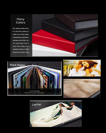 The Superior Wedding Album or Parent Albums ~ Perfect upgrade to any wedding package