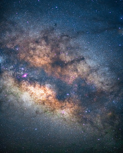 Made from 10 light frames (captured with a SONY camera) by Starry Landscape Stacker 1.5.1.