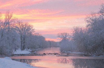 1-27-11- North River at Dawn