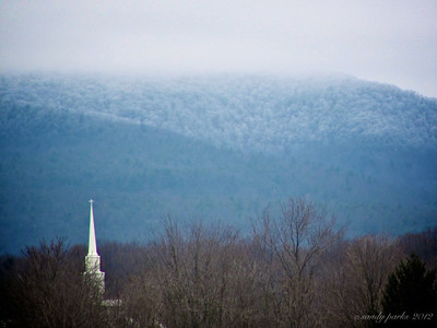 1-22-11- Whiteout over Mt  Bethel