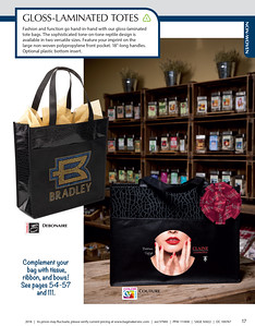 Gloss-Laminated Totes by Bag Makers Inc.