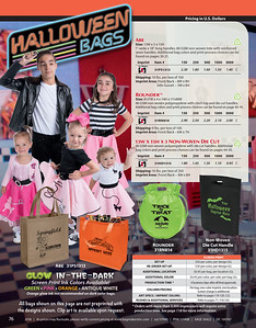 Halloween Bags by Bag Makers Inc.