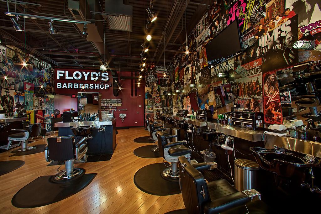 Floyd's 99 Barbershop - Park Ridge, IL