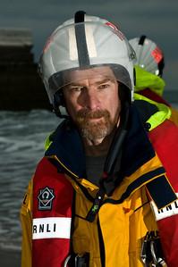 Portrait - RNLI Crew - Ramsey, Isle of Man - Steve Oates