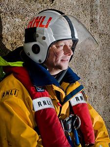 Portrait - RNLI Crew - Ramsey, Isle of Man - Wayne Hargrave