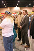 Senator-to-be Jim Webb visits the Festival of India at the Richmond Convention Center, Richmond, Virginia, October 2006. He wears the desert combat boots in honor of his son who is serving in Iraq.