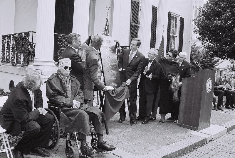 Oliver W. Hill Building Dedication Ceremony <br /> with Sen. Bobby Scott and Gov. Mark Warner