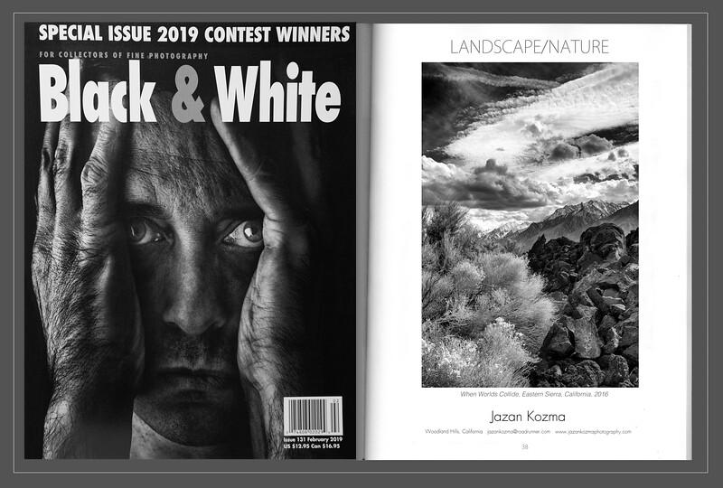 Black & White Magazine 2019  Contest Winner Jazan Kozma, Catagory: Landscape/Nature