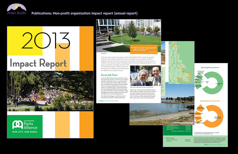 Design & produce 16-page report, copyfit, select & prep photos, produce infographics, prep & upload to printer.