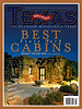 My First Magazine for Texas Parks and Wildlife.   Night cabin at Palo Duro Canyon.