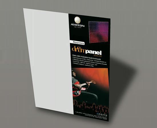 Publicité Ayrton - Axente l 1/2 page Sono Mag