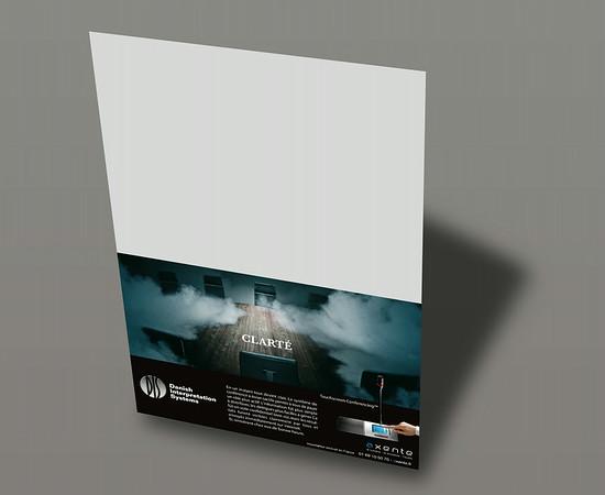 Publicité DIS - Axente l 1/2 page horizontale Sono Mag