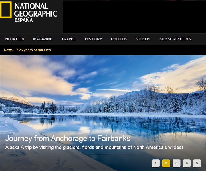 """<div class="""""""">Image of the Kenai River at Jim's Landing on the Kenai Peninsula published in the April 2013 issue of <a href=""""http://www.nationalgeographic.com.es/articulo/viajes/grandes_viajes/8228/travesia_desde_anchorage_hasta_fairbanks.html"""" target=""""_blank""""><b>""""Viajes National Geographic""""</b></a> <br> <br> <a href=""""http://www.nationalgeographic.com.es/articulo/viajes/grandes_viajes/8228/travesia_desde_anchorage_hasta_fairbanks.html"""" target=""""_blank""""><b>Click here to view photo and article.</b></a> <br> <br> <a href=""""http://www.lucaspaynephotography.com/Alaska/Alaska-Scenic-1/3311624_GhkPnG#!i=1165817640&k=QZWFJS6"""" target=""""_blank""""><b>Click here to see this image in its original gallery and purchase a print.</b></a></div>"""