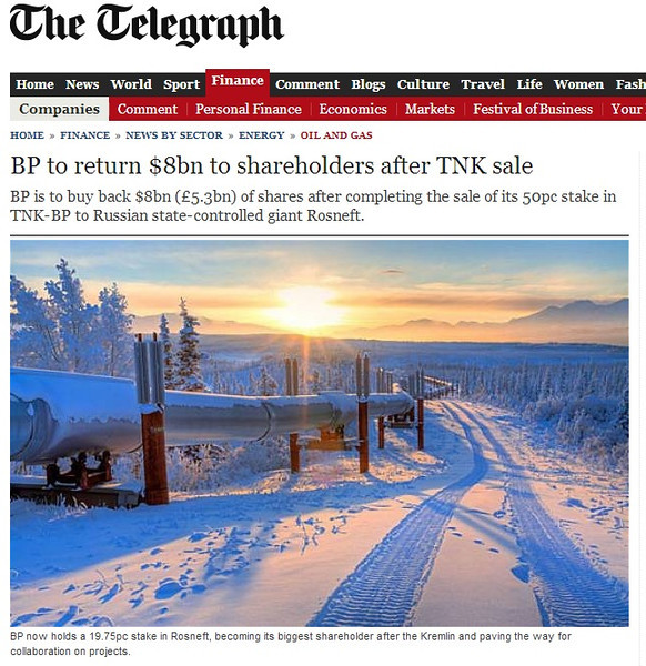 "<div class="""">Image of The Alaska Pipeline published March 22, 2013 in the UK newspaper <a href=""http://www.telegraph.co.uk/finance/newsbysector/energy/oilandgas/9947667/BP-to-return-8bn-to-shareholders-after-TNK-sale.html"" target=""_blank""><b>""The Telegraph""</b></a> <br> <br> <a href=""http://www.telegraph.co.uk/finance/newsbysector/energy/oilandgas/9947667/BP-to-return-8bn-to-shareholders-after-TNK-sale.html"" target=""_blank""><b>Click here to view photo and article.</b></a> <br> <br> <a href=""http://www.lucaspaynephotography.com/Alaska/Alaska-Scenic-1/3311624_GhkPnG#!i=1140168769&k=btrfg86"" target=""_blank""><b>Click here to see this image in its original gallery and purchase a print.</b></a></div>"