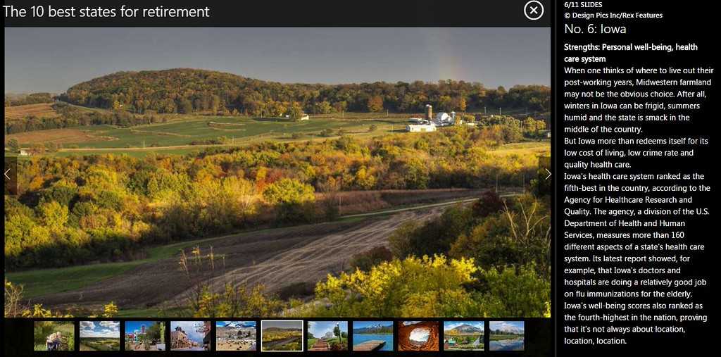 """<div class="""""""">Scenic view of the rolling farmland and fall foliage along The Great River Road near Balltown in Northeast Iowa published in an msn.com article <a href=""""http://www.msn.com/en-us/money/retirement/the-10-best-states-for-retirement/ss-AA9WpQi#image=6"""" target=""""_blank""""><b>""""The 10 Best States for Retirement""""</b></a> <br> <br> <a href=""""http://www.msn.com/en-us/money/retirement/the-10-best-states-for-retirement/ss-AA9WpQi#image=6"""" target=""""_blank""""><b>Click here to view photo and article.</b></a> <br> <br> <a href=""""http://www.lucaspaynephotography.com/ImagesoftheMidwest/Iowa/Iowa-Scenic/6356048_WV3BnG#!i=2918830966&k=6RTCPst&lb=1&s=XL"""" target=""""_blank""""><b>Click here to see this image in its original gallery and purchase a print.</b></a></div>"""