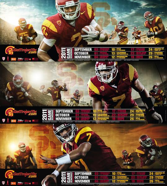 USC Football 2011 Poster Series