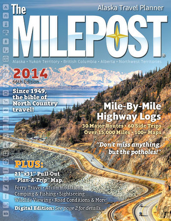 """<div class="""""""">View overlooking traffic on the Seward Highway along Turnagain Arm with the snowcovered Alaska Range in the background published on the cover of the <a href=""""http://www.themilepost.com/"""" target=""""_blank""""><b>2014 edition of """"The MILEPOST""""</b></a> <br> <br> <a href=""""http://www.lucaspaynephotography.com/Alaska/Alaska-Scenic-1/3311624_GhkPnG#!i=2128812266&k=d4WLHct"""" target=""""_blank""""><b>Click here to see this image in its original gallery and purchase a print.</b></a></div>"""