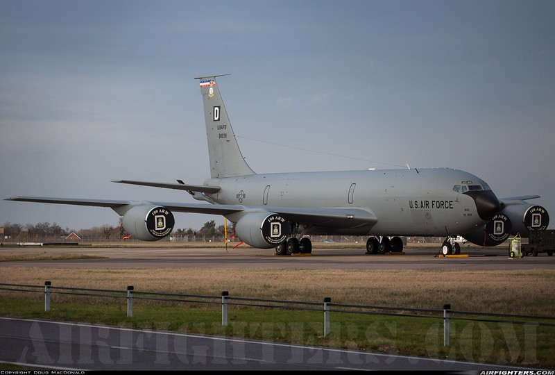 Boeing KC-135R 58-0036 at RAF Mildenhall on 16th January 2020
