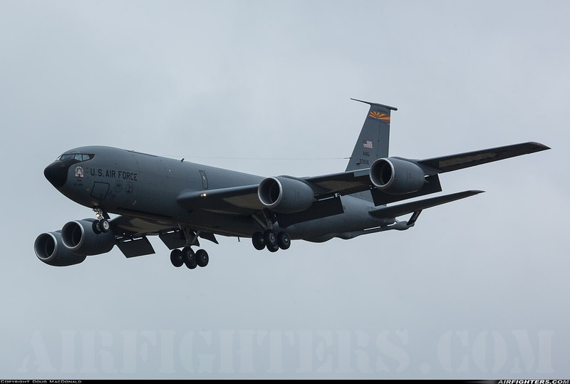 Boeing KC-135R 62-3516 at RAF Mildenhall on 16th March 2020