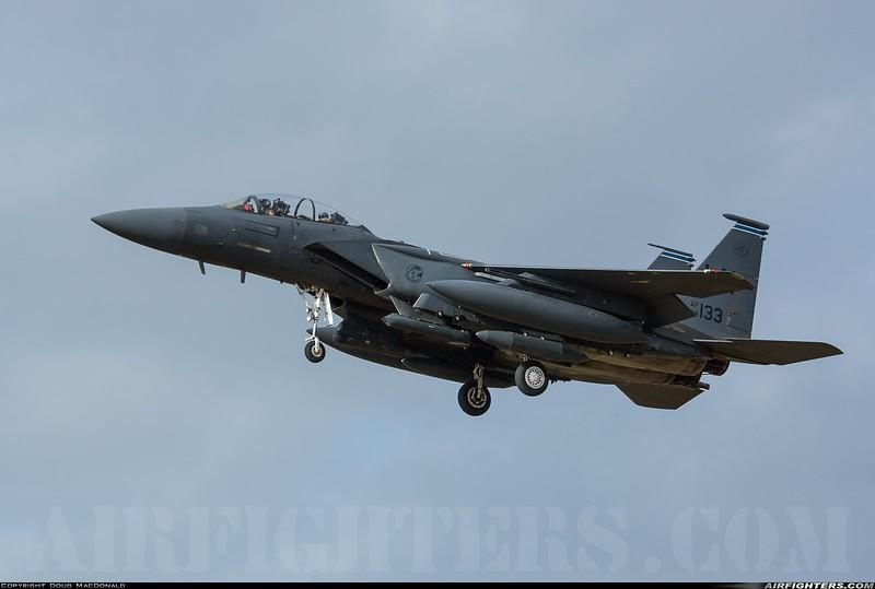 MCD F-15E Strike Eagle 98-0133 at RAF Lakenheath on 1st March 2020
