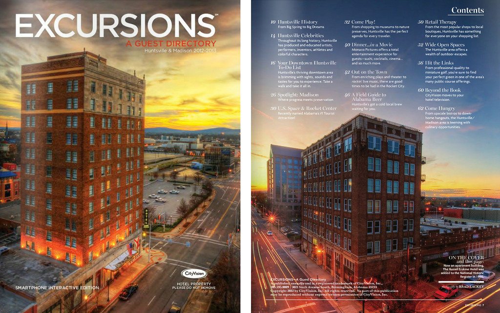 Excursions Guest Directory - Huntsville & Madison 2012-2013
