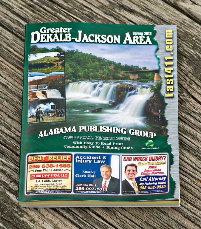 2013 Greater Dekalb-Jackson (AL) Area Phone Book