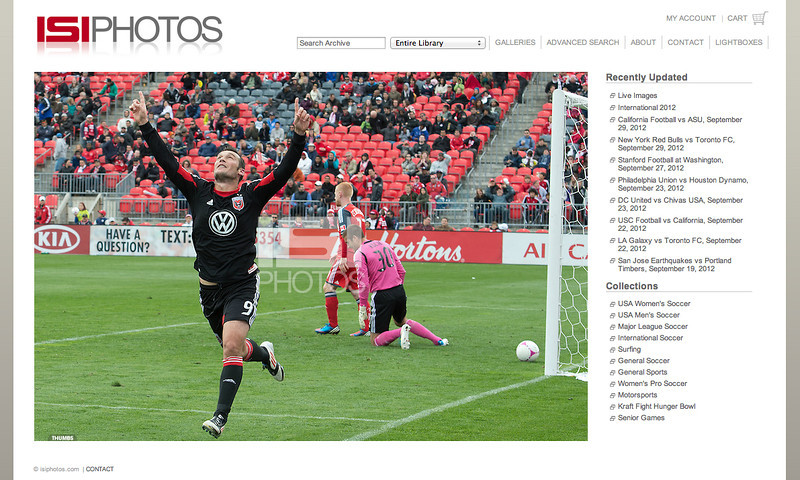 October 6, 2012: Isiphotos.com Web Site - D.C. United at Toronto FC at BMO Field Toronto, Ontario.