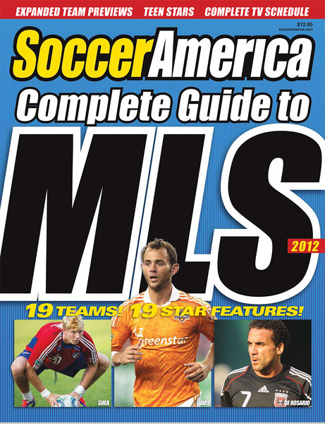 March 20, 2012: Cover of Soccer America Magazine (bottom left photo) - Brek Shea FC Dallas