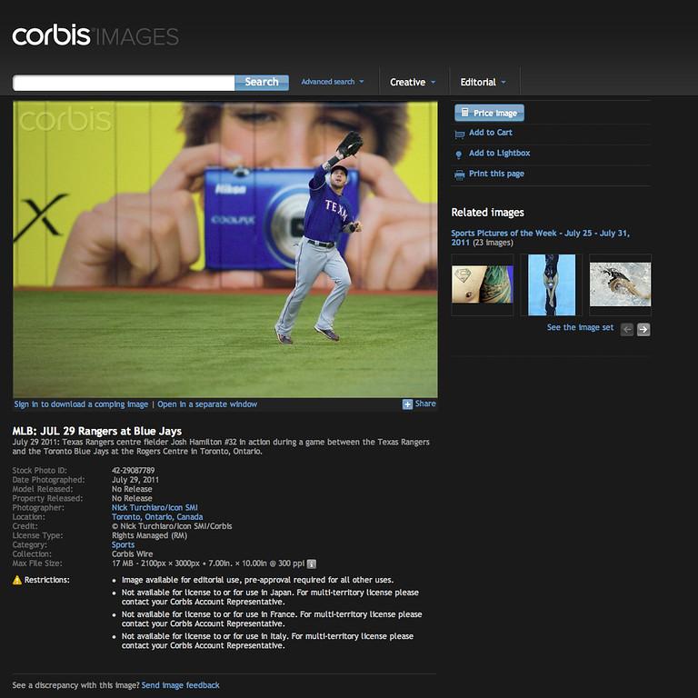 Corbis Images Stock Image
