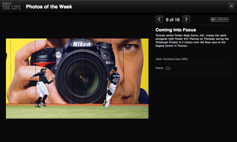 espn.com  Photo of the week