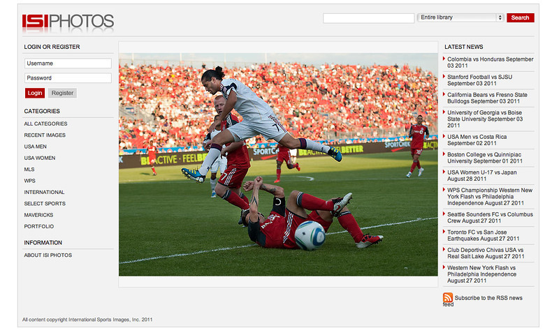 International Sports Images,Inc Web Site Toronto FC vs Real Salt Lake August 27, 2011.