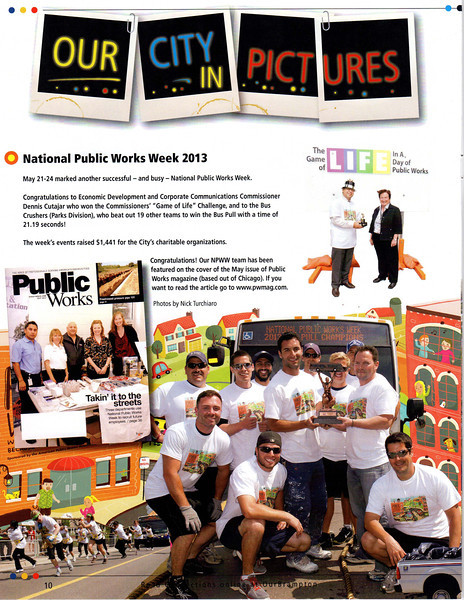 June 20, 2013: Connections Magazine - City of Brampton Works & Transportations Department - 2013 National Public Works Week - Page 10 June 2013