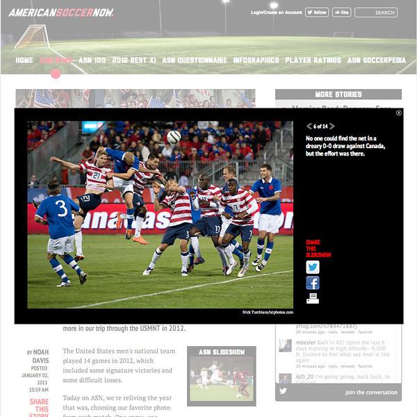 January 2, 2013: American Soccer.com - US National Soccer Team vs Canada at BMO Field Toronto, Ontario