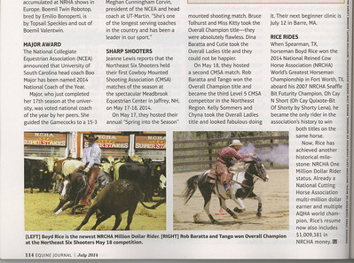 Equine Journal, July 2014 1