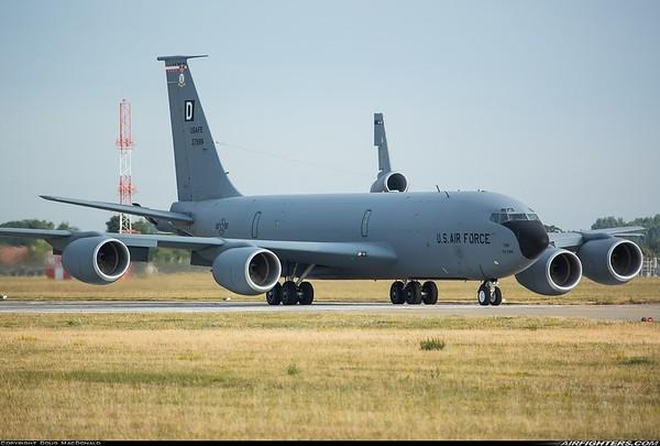 Boeing KC-135R 63-7999 taken at RAF Mildenhall on 9th July 2018.