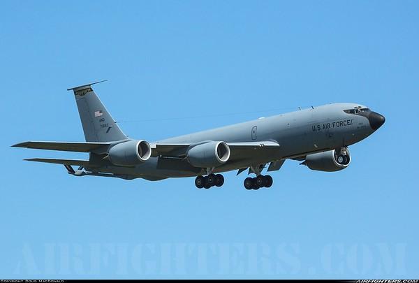 Boeing KC-135R 57-1462  taken at RAF Mildenhall on 1st July 2018.