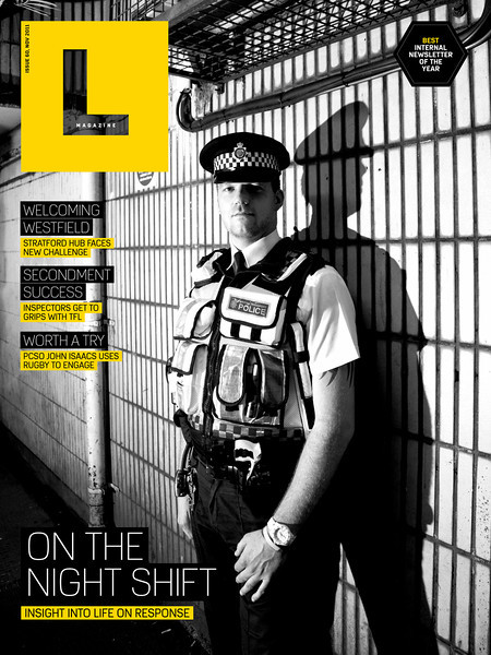 L Mag, November 2011, British Transport Police
