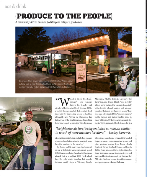 Charleston magazine, March 2017