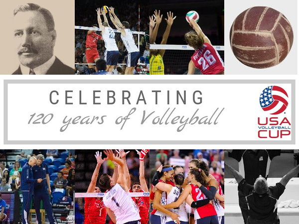 USA Volleyball Cup - Celebrating 120 Yrs
