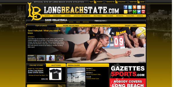 "Long Beach State feature story - ""Sand Volleyball: What you need to know"" (September 15, 2011)"