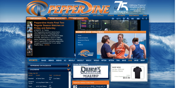 Pepperdine University - Women's Sand Volleyball