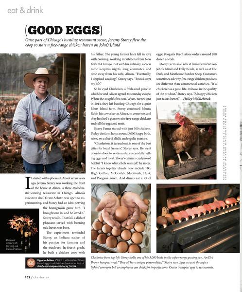 Charleston magazine, April 2017
