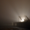 "This was a foggy night with the pleasure pier under construction . We had to stop on our way home for us to snap a few shots. <a href=""http://www.descope.com/images/03-2013/03-2013_1.png"">http://www.descope.com/images/03-2013/03-2013_1.png</a>"