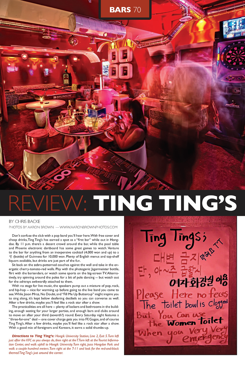 - Groove Magazine: June, 2010 - (Club Ting Ting)