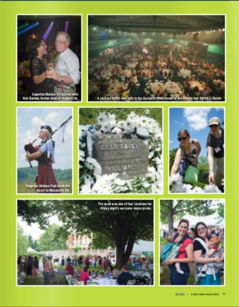 Sweet Briar College Magazine (Vol. 86 issue 1)