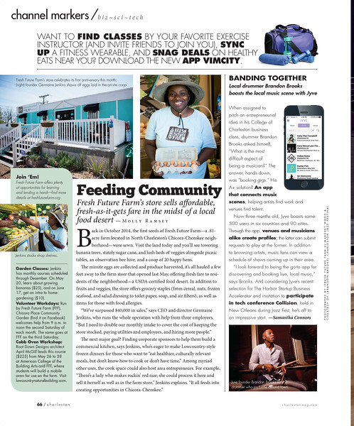 Charleston magazine, May 2017