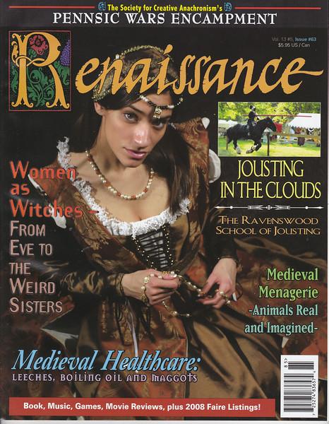 Renaissance Magazine - Cover