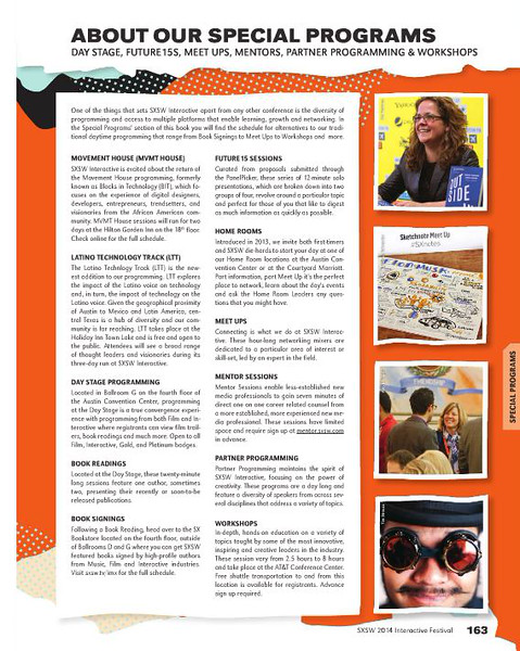 SXSW Interactive 2014 Program Guide<br /> SteamPunk photo credit Tim Strauss