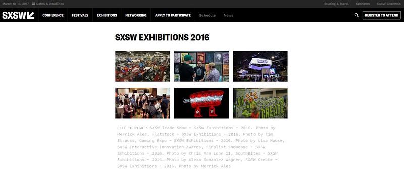 "SXSW.com - August 16th, 2016.<br /> ""SXSW Press Images 2016""<br /> Flatstock - SXSW Exhibitions - 2016. Photo by Tim Strauss"