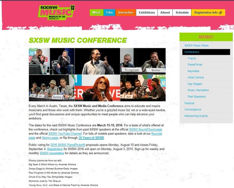 "SXSW.com - August 1st, 2015.<br />  ""SXSW Music Conference""<br /> Wynonna Judd by Tim Strauss"